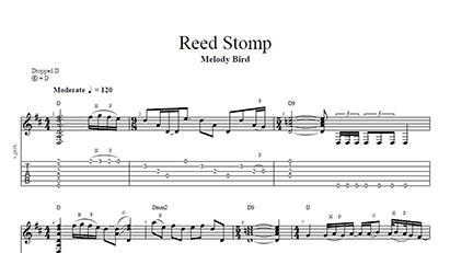 Reed Stomp - Tab